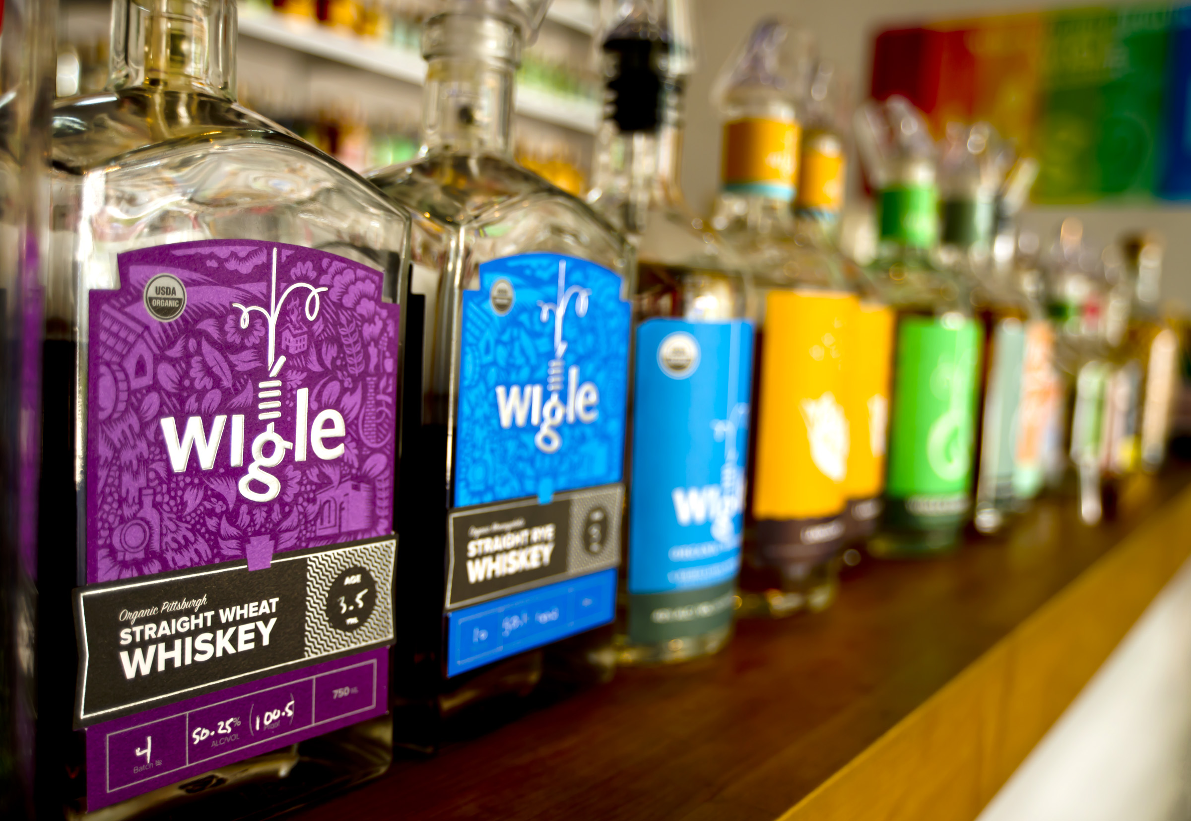 WIGLE WHISKEY Barrelhouse