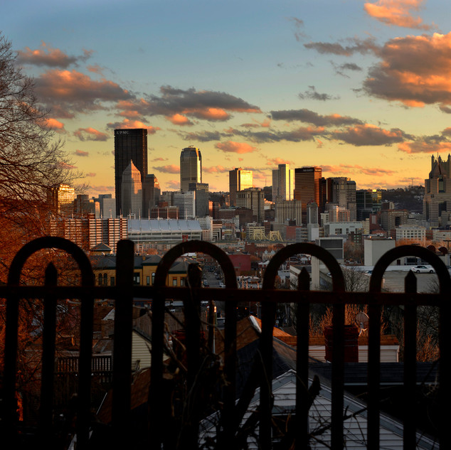 Day 52_PGH Skyline from Fountain St_Feb