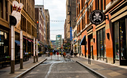Early Morning 4th Street_cleveland