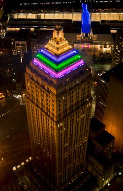 Gulf Tower At Night