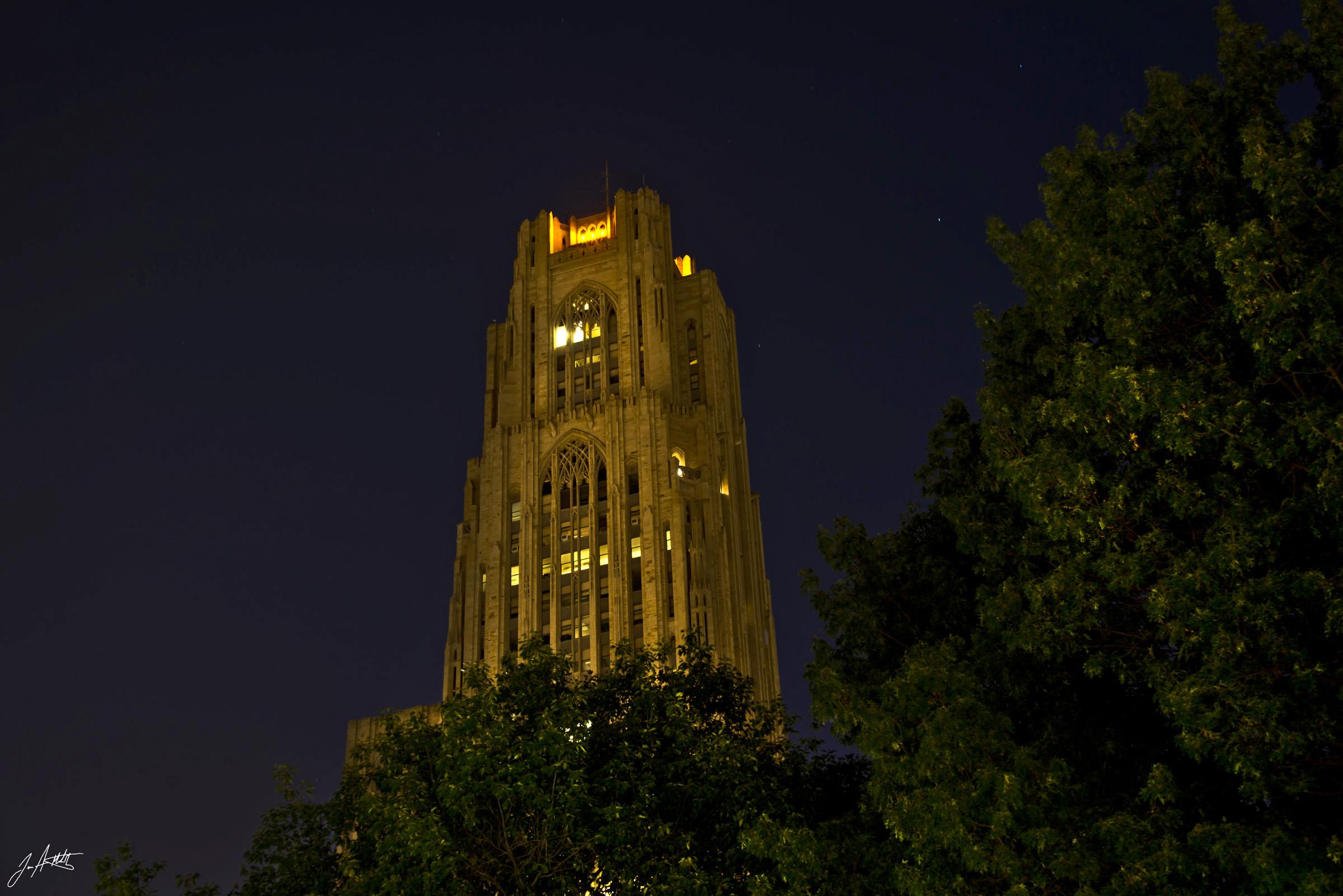 Day202_Pitt At Night_July21