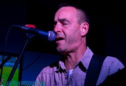 Tom at the mic