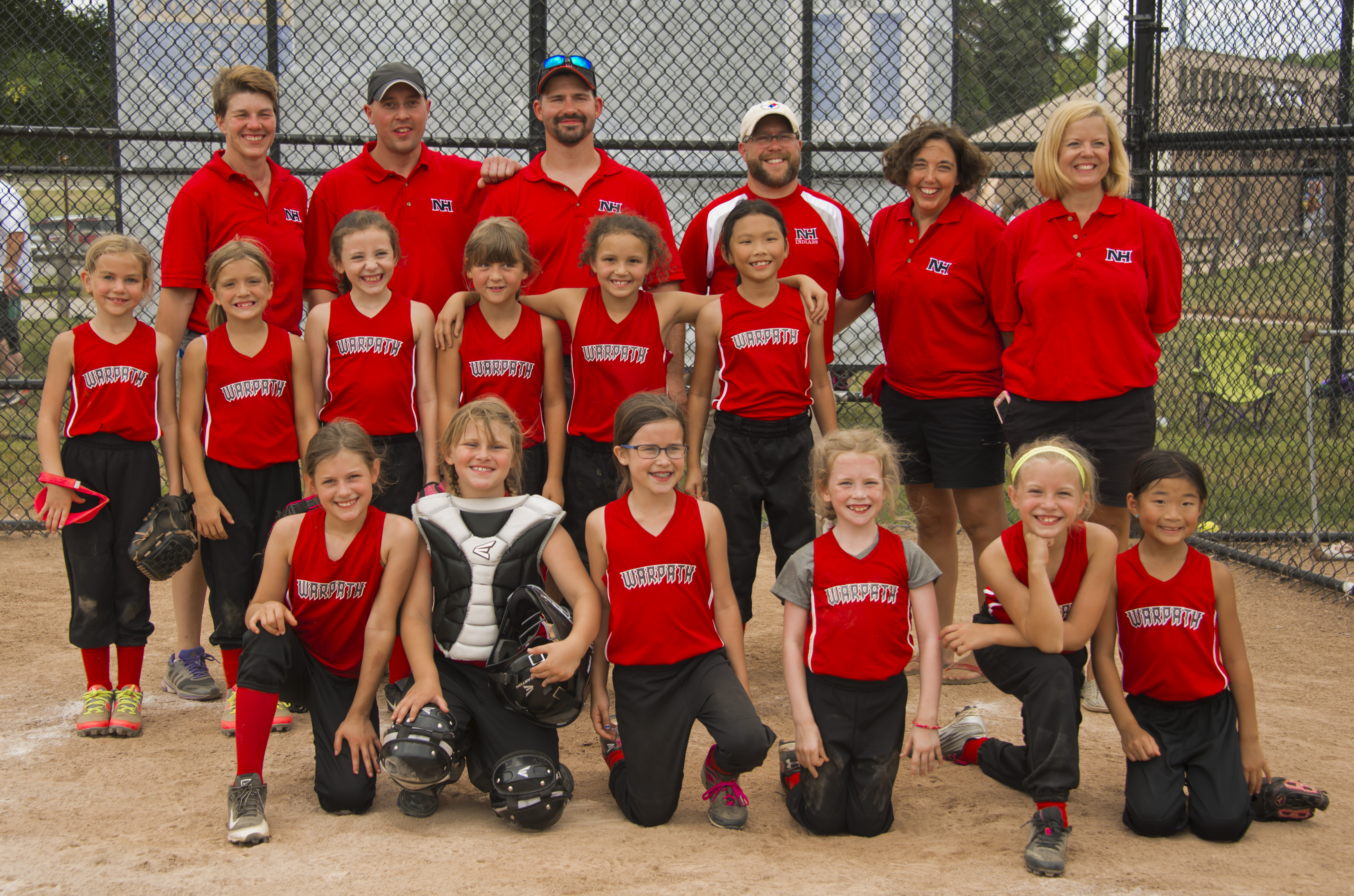 WARPATH 8U Tournament team