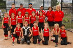 WARPATH 8U Tournament team