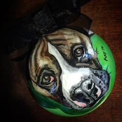 Handpainted Christmas ornaments make the perfect gift! We are now taking orders for Christmas 2016.