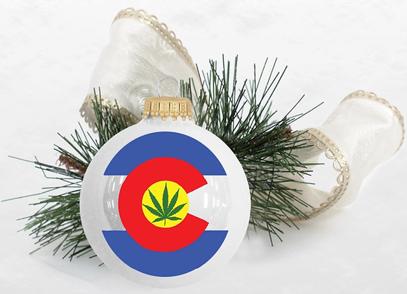 Colorado Cannabis Ornament
