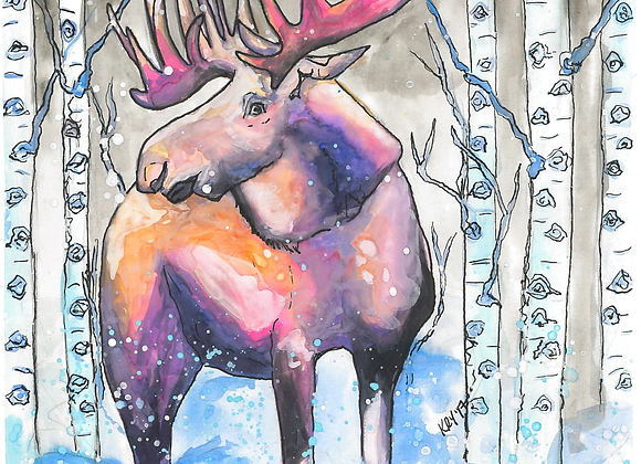 Moose Lips Ornaments