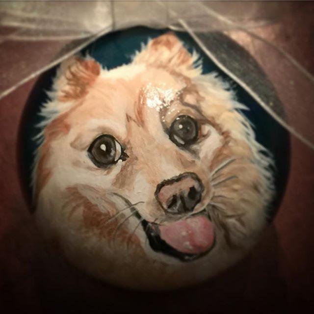 CustomPetOrnaments  #dogsofinstgram #pomeranian #petportrait #f