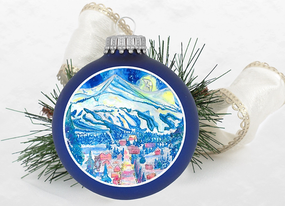 Goodnight Mountains Ornament