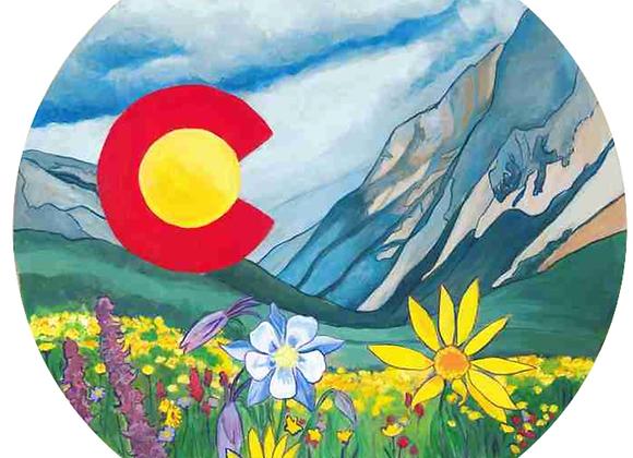Colorado Summer Ornaments