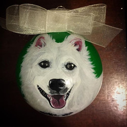 CustomPetOrnaments #dogsofinstgram #fluffy #fluffydog