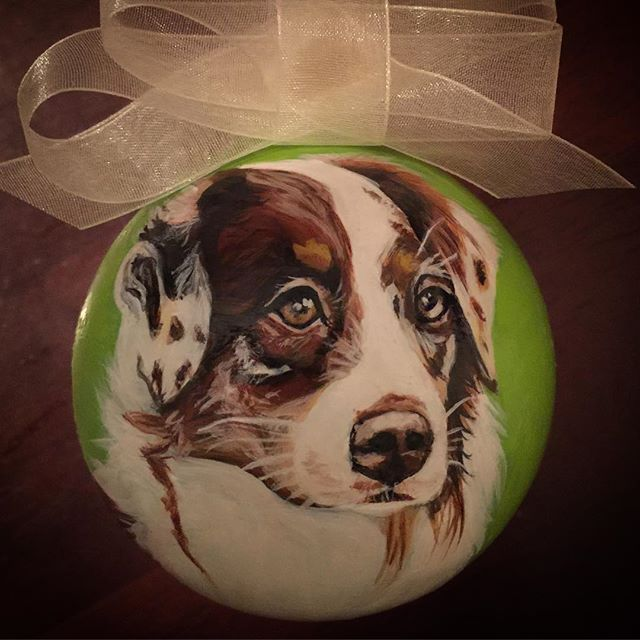 CustomPetOrnaments _#dogsofinstagram #cute #instagood #petsofinstagram #australiansheph