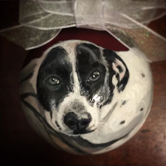 CustomPetOrnaments #dogsofinstgram