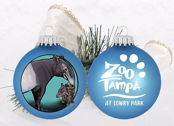 Mother and Baby Tapir Ornament