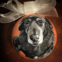 CustomPetOrnaments #dogsofinstagram