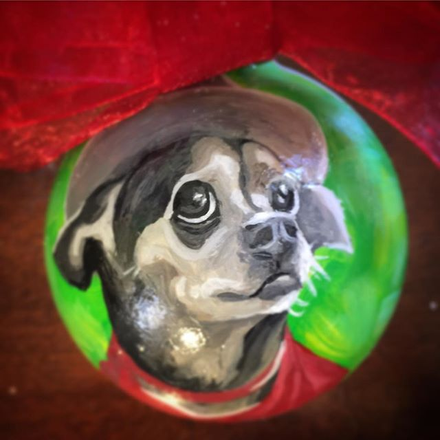 CustomPetOrnaments #chihuahuasofinstagram #dog