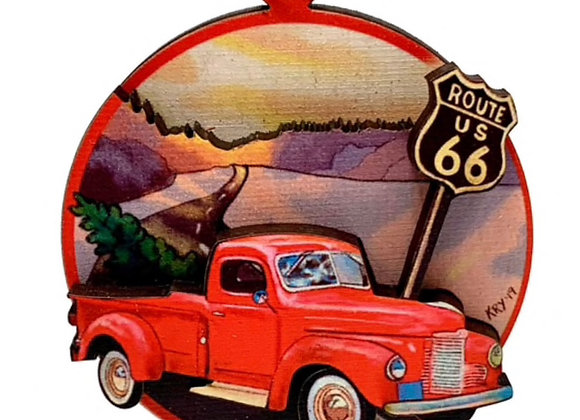Red Truck on Route 66