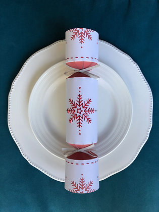 Embroidered Christmas Crackers