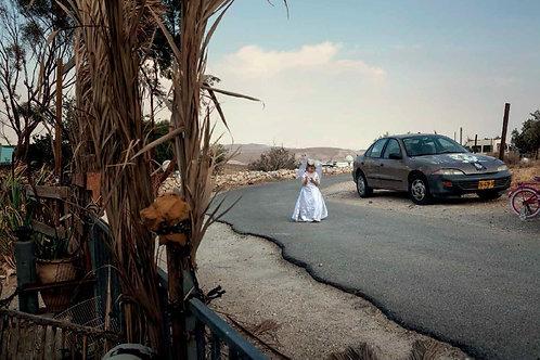 Odessa vestita da sposa