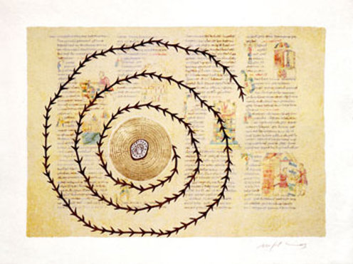 Rabanus Maurus De Universo 2004  (cartella completa di 8 opere)