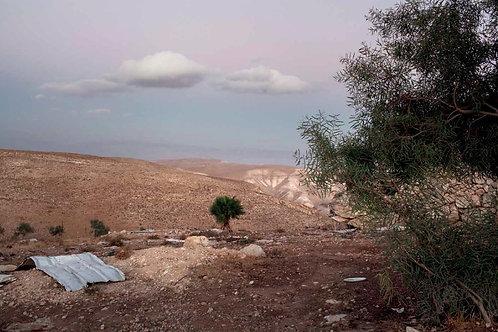 Vista dall'insediamento