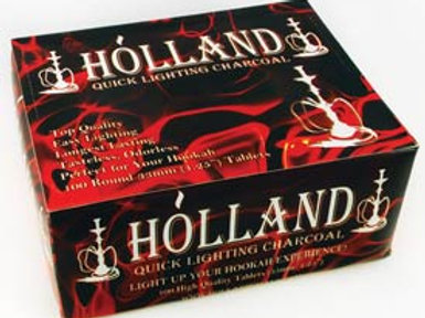 33mm Holland Charcoal (100 tablets)