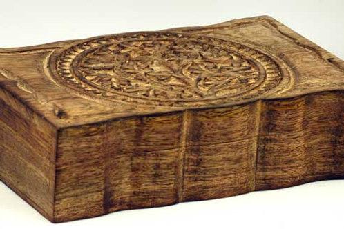 "Tree of Life herb box 6"" x 9"""