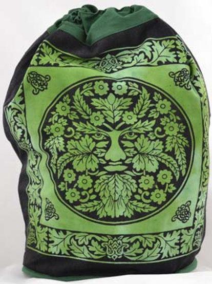 Green Man Backpack