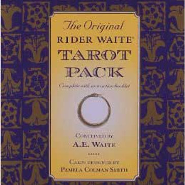 Rider-Waite deck & book by Pamela Colman Smith
