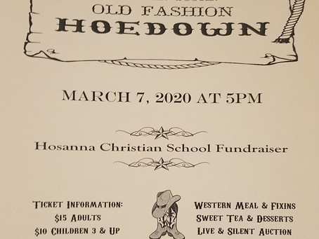 HCS Auction Hoedown