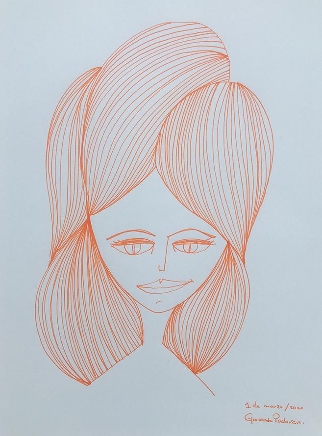 Ink naranja