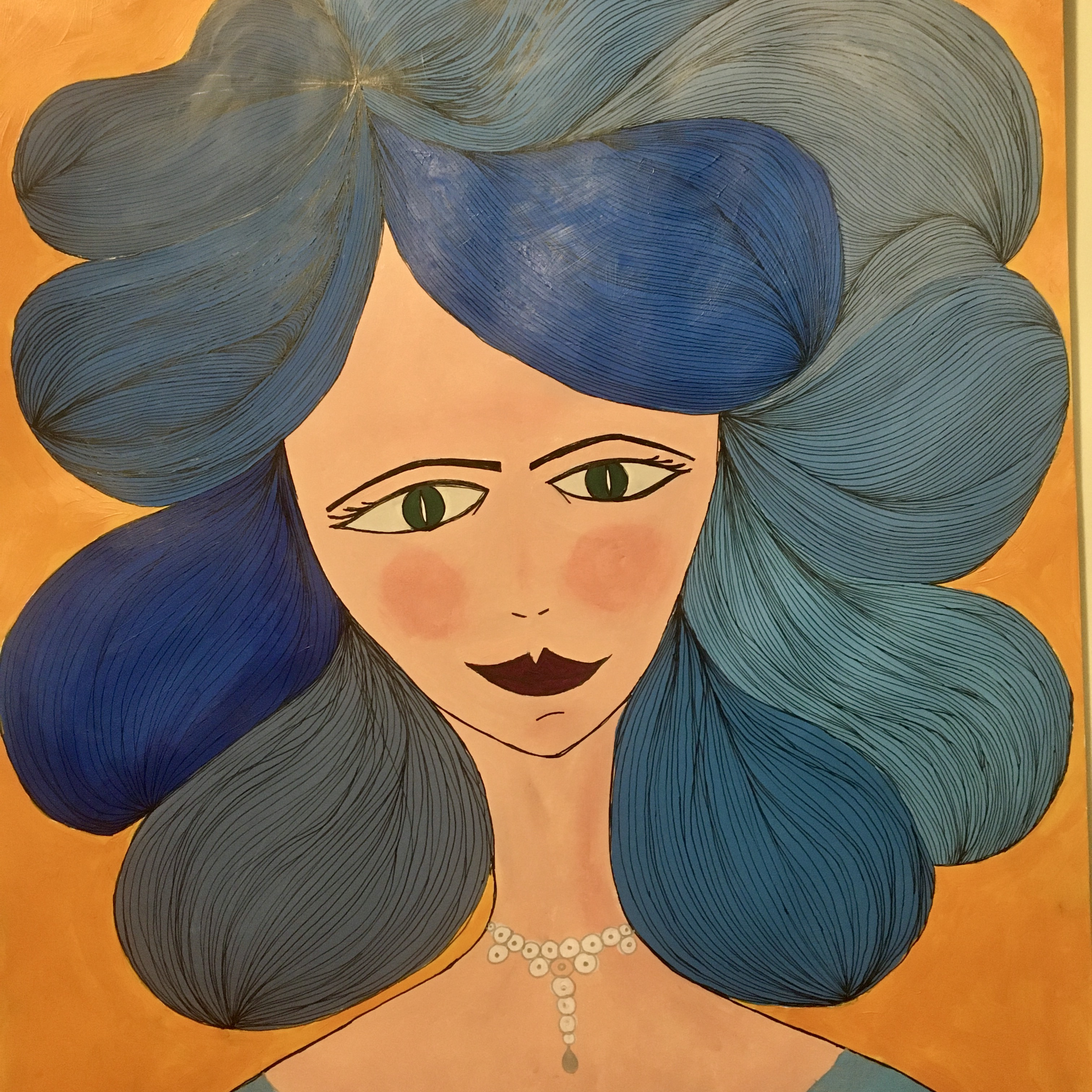 Minina Original art on paper