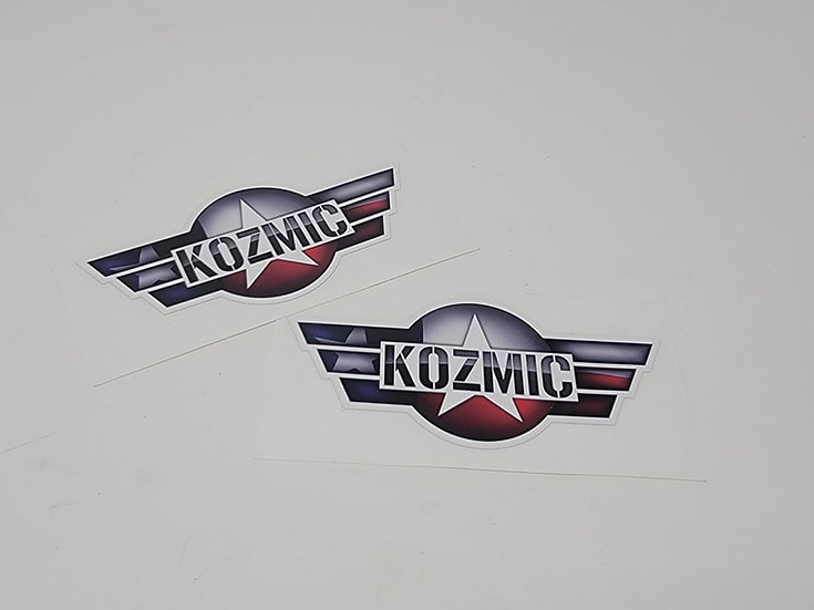 "Kozmic ""Wings"" Stickers"
