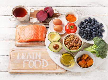 Alimentos sanos para mi Cerebro