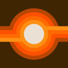 Golden Sunspot
