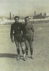 Caldes  inverno 1944. Enzo Parissi e Lui