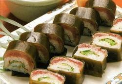 さんまロール寿司