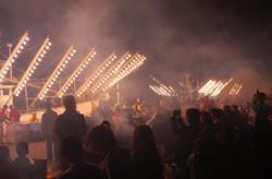 さんま祭り_ライトアップ