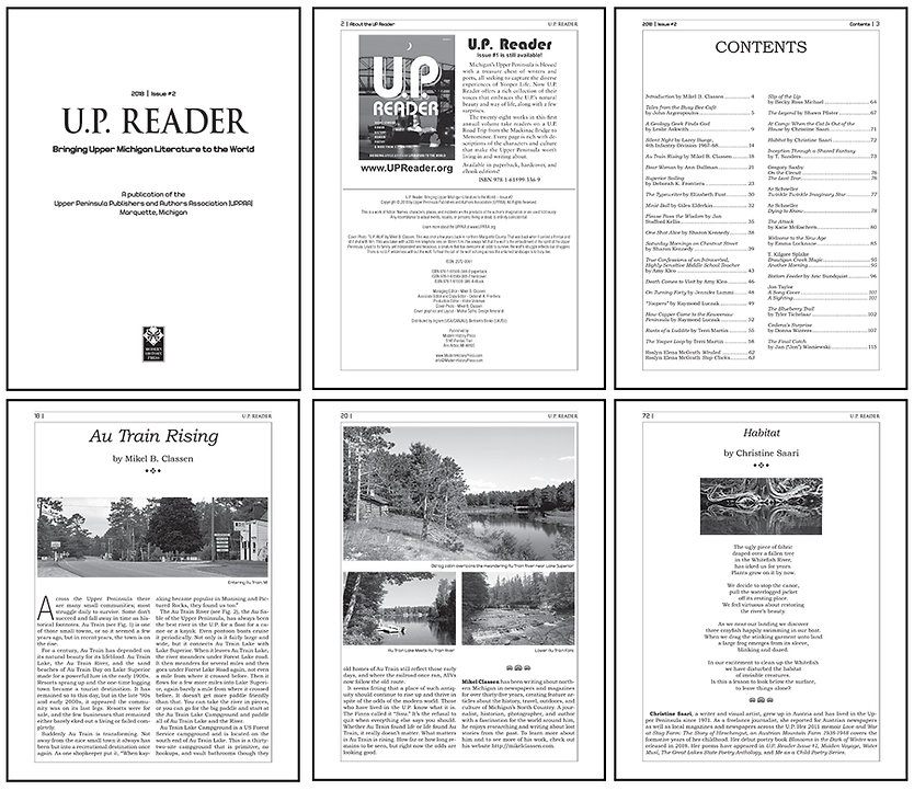 magazine redesign and layout