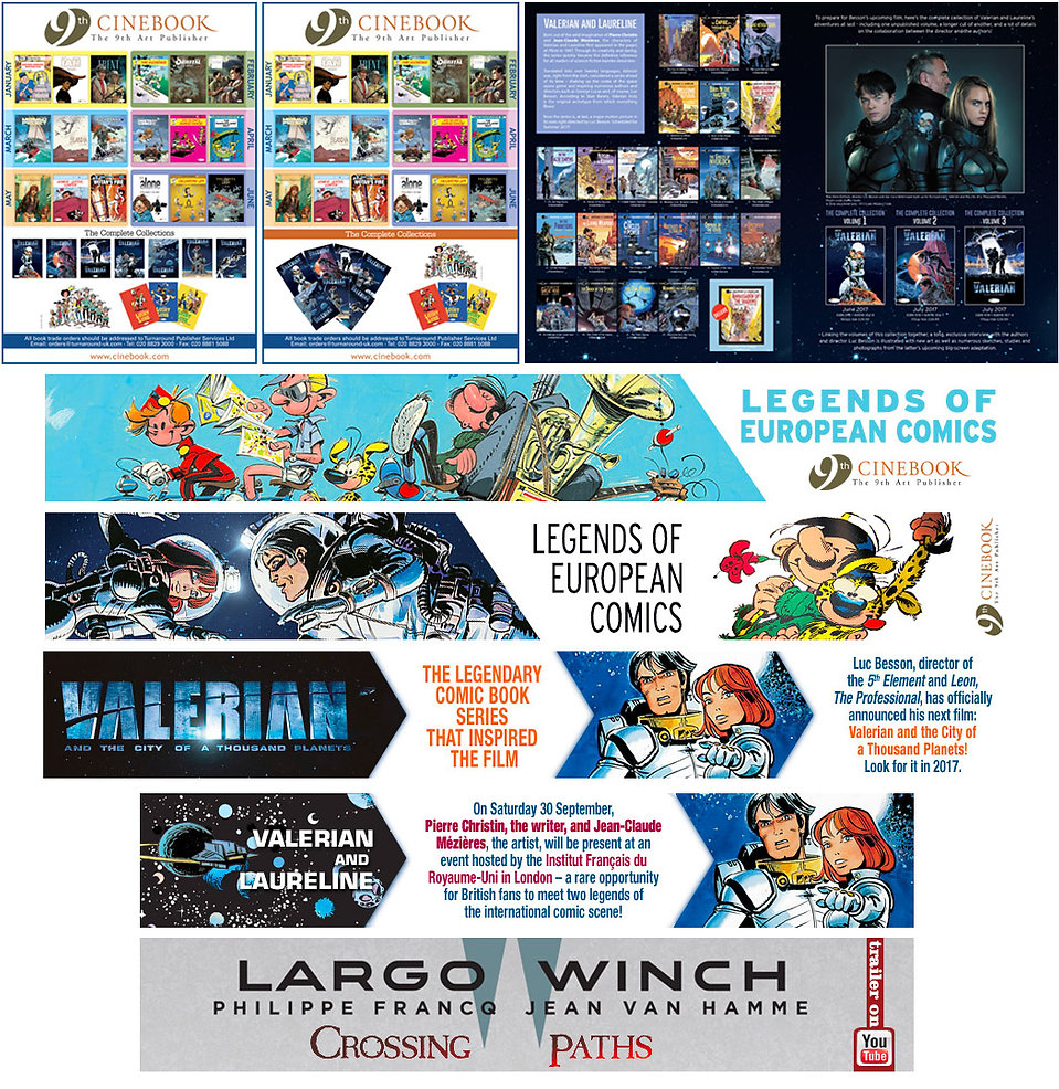 comic book poster banner