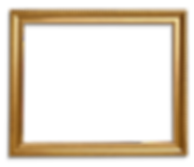 Gold frame square