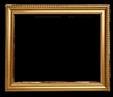 Золотая квадратная рамка