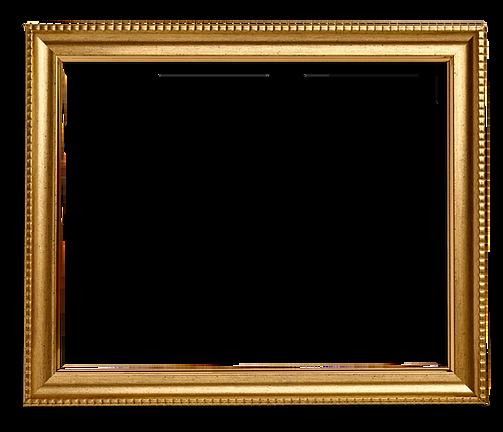 Gouden frame square