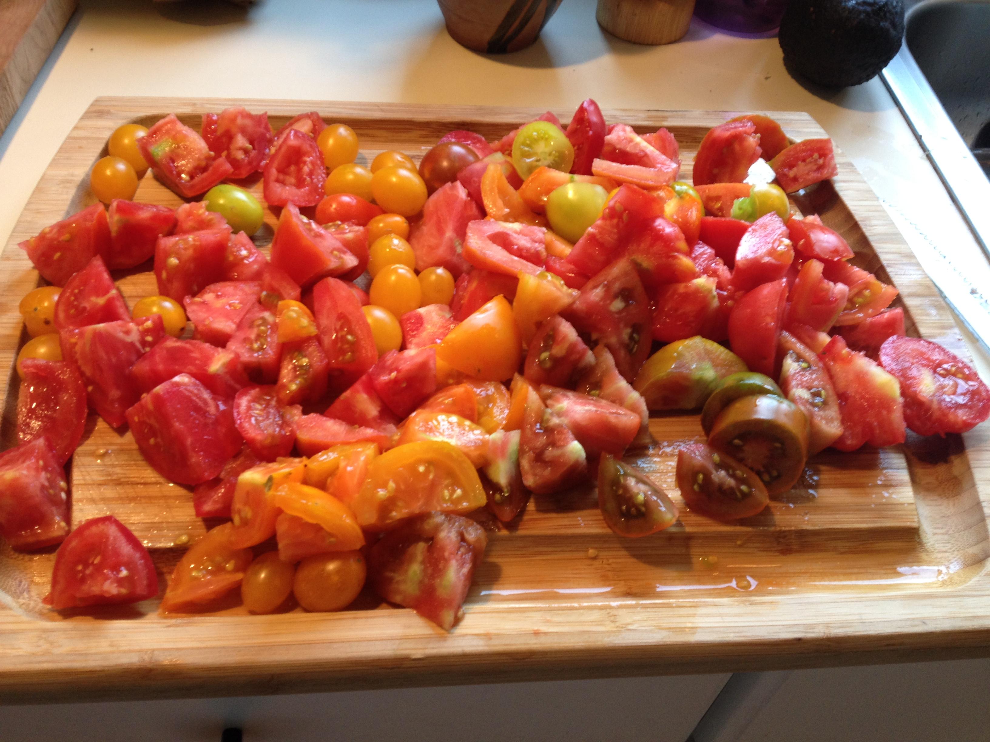 Happy Cat tomatoes