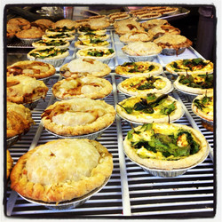 savory pies and quiche