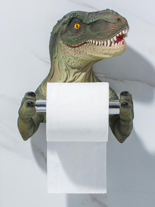 Dinosaur Bathroom TP Holder
