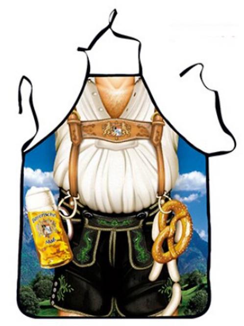 Oktoberfest Lederhosen Apron - Bavarian Style