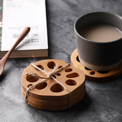 Ernst Wooden Coasters - Set of 4