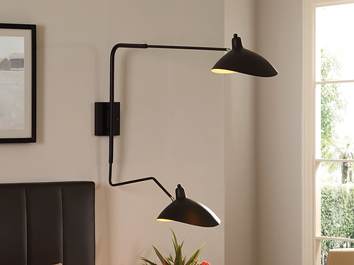 Jules Double Fixture Wall Lamp