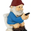 Gnome On His Throne